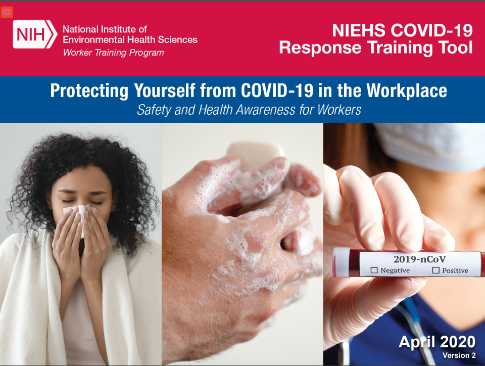 Protecting yourself from COVID-19 in the workplace.