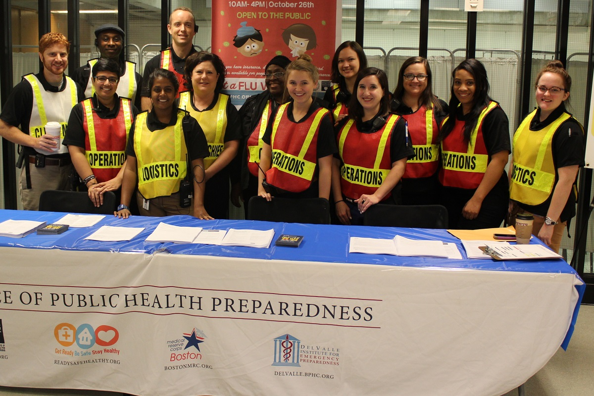 Our Team at the Flu Clinic, 2017