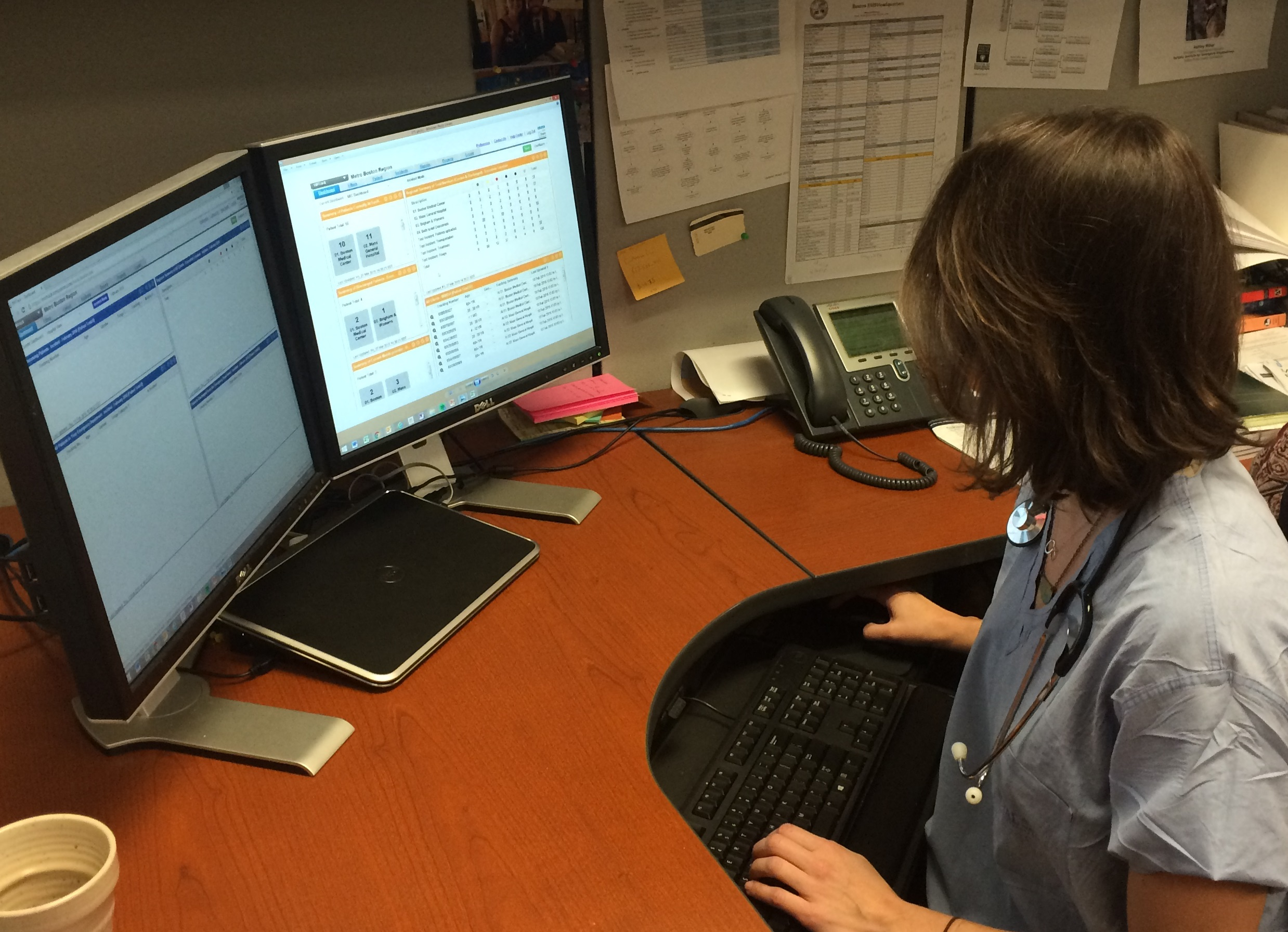 Marathon Use of the Emergency Tracking System (ETS)